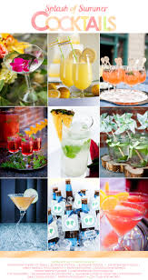 make a splash with summer cocktails pretty drinks pinterest