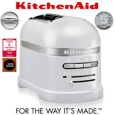 Toaster Kitchenaid Kitchenaid Artisan 2 Slot Toaster Frosted Pearl Cookfunky