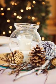 table decorations with pine cones decorating ideas cozy image of accessories for dining room