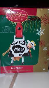 carlton cards american greetings cow ornament ornaments