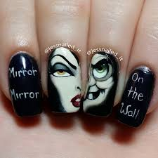 nail art inspired the evil queen from disney u0027s