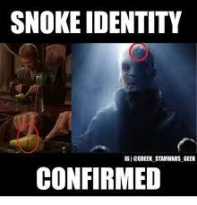 Greek Meme - snoke identity ig starwars geek confirmed greek meme on esmemes com
