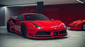 ferrari 488 custom the novitec n largo is a widebody ferrari 488 with shades of the