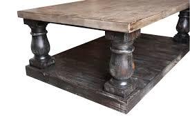 turned leg coffee table large turned leg coffee table coffee table design