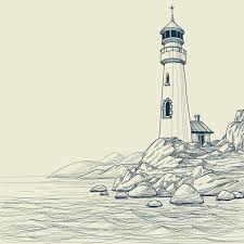 lighthouse tattoo drawing jpg 1732 1732 lighthouses
