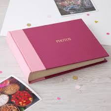 Luxury Photo Albums Personalised Photo Album Notonthehighstreet Com