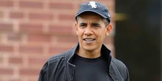 zerchoo fashion barack obama is chilling out and wearing his hat