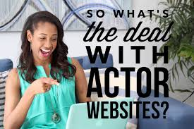 so what u0027s the deal with actor websites ajarae coleman