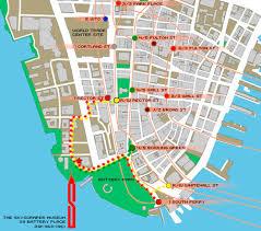 downtown manhattan map the skyscraper museum