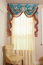 stupendous blue curtain valance 50 blue and white curtain valance