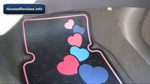 Beautiful Rubber Mats Hello Kitty Car Mats Review Hello Kitty Car Accessories Youtube