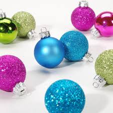 mini ornaments 1 ornament balls bright colors