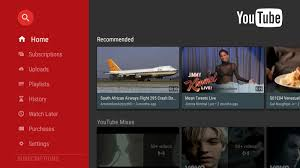 download android tv youtube app updated with improved design