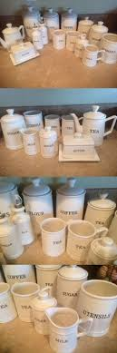 thl kitchen canisters canisters and jars 20654 x687 set 5 storage canisters metal sugar