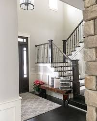 Modern Banister Ideas Best 25 Farmhouse Stairs Ideas On Pinterest Cottage Cottages