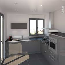 cuisine gris laque impressionnant cuisine gris clair galerie avec cuisine grise ikea