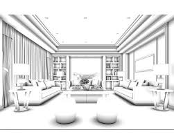 family living room restaurant design 3d wc cgtrader