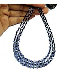 color beads necklace images Awesome silver jewelry black spinal tanzanite black sky blue JPG