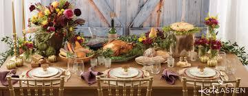 thanksgiving table decor and favors kate aspen