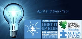 autism speaks light it up blue topping brothers scv april 2nd was light it up blue let s light