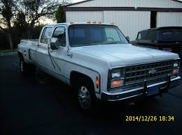 Classic Chevy Dually Trucks - classic old square body crew cab 3 3 dually barnfind shop