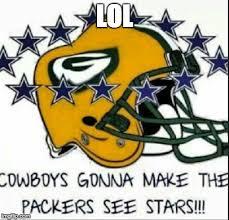 Funny Green Bay Packers Memes - dallas cowboys imgflip