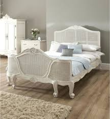 platform bed frame ikea wicker and iron sleigh bed with linens and