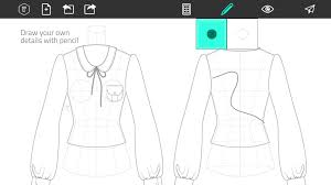 Make Your Own Name Brand Clothes Fashion Design Flat Sketch Android Apps On Google Play
