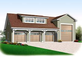 Rv Garage by 4 Car Rv Garage 21926dr Architectural Designs House Plans