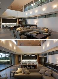 this modern house is located on a hill overlooking austin texas