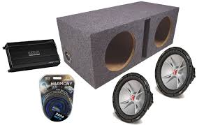 kicker car audio 2 07 cvr15 comp cvr dual 4 ohm 2000 watt loaded