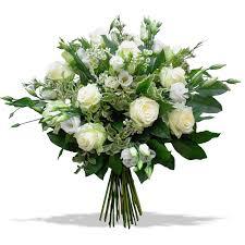 bouquet de fleurs roses blanches oasisfleuriste