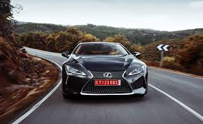 lexus hybrid test drive 2018 lexus lc 500 black test drive front gallery photo 62 of 84