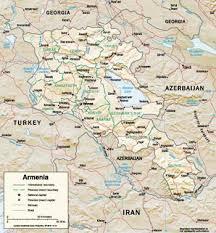 armenia on world map genocide in armenia