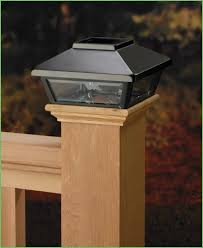 lighting fairmont solar post cap light caps fs100b solar