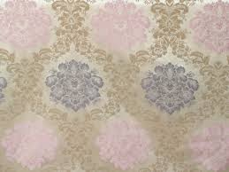 Wholesale Home Decor Fabric by Grey And Pink Floral Damask Curtain Fabric By The Yard Upholstery
