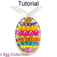 necklace pattern collection images Beading pattern tutorial colorful beaded brick stitch simple