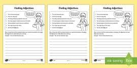 finding verbs activity sheet finding verbs activity sheet