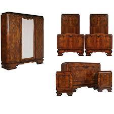 art deco bedroom suite circa 1930 for sale at 1stdibs 1920s italian art deco bedroom set in walnut and burl walnut by