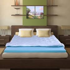sleeplanner 3 inch queen size i gel memory foam mattress topper
