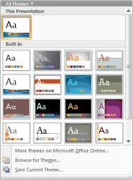 the evolution of themes powerpoint tutorials