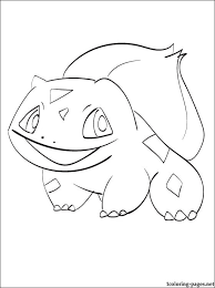 pokemon coloring bulbasaur coloring pages