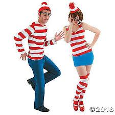 Halloween Costume Bacon U0027s Waldo Halloween Costumes Couples Oriental Trading