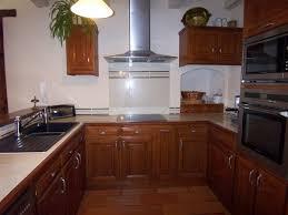 cuisine merisier vos photos de cuisines cuisine renovee merisier et inox