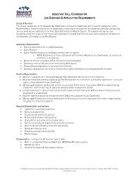 Finance Advisor Job Description Resume Advisor Sales Advisor Lewesmr