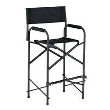 Tall Directors Chair With Side Table Camping Director Chairs Ebay