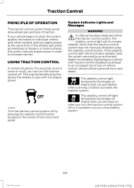 traction control ford f150 2014 12 g owners manual