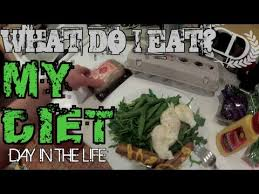 bodybuilding paleo cutting example diet youtube