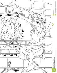 poor cinderella stock illustration image 62906325