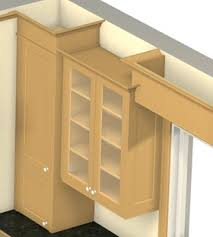 Install Crown Molding On Kitchen Cabinets Crown Mouldings On Varying Cabinet Heights U2014 Stonehaven Life